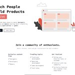 Image for the Tweet beginning: Strow: Watch people build products