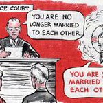 Image for the Tweet beginning: Divorce isn't real
