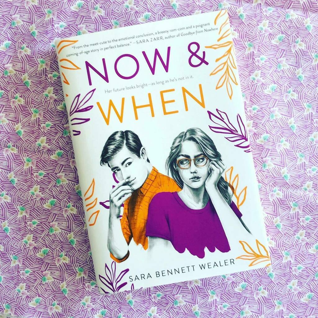 NOW & WHEN by @sbennettwealer is out now! This enemies-to-lovers YA romance is a must-read.  Photo courtesy of @sbennettwealer. ⠀ ⠀ #sarabennettwealer #nowandwhen #yalit #youngadultbooks #yabooks #ireadya #yaromance #yafiction #romance #fic… https://instagr.am/p/CDtrnnqgl7q/pic.twitter.com/K7pC44P6RA