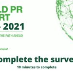 Image for the Tweet beginning: #ICCOWorldPRReport    We can only