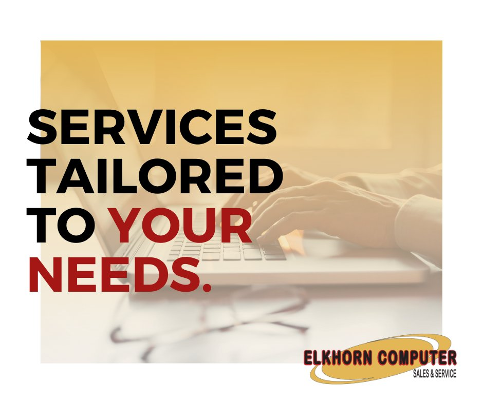 Do you need hardware repair on your personal laptop or all new equipment for your new office? We offer services that meet all of your computing needs. #services #tailored #needs pic.twitter.com/BYMetCGYfv