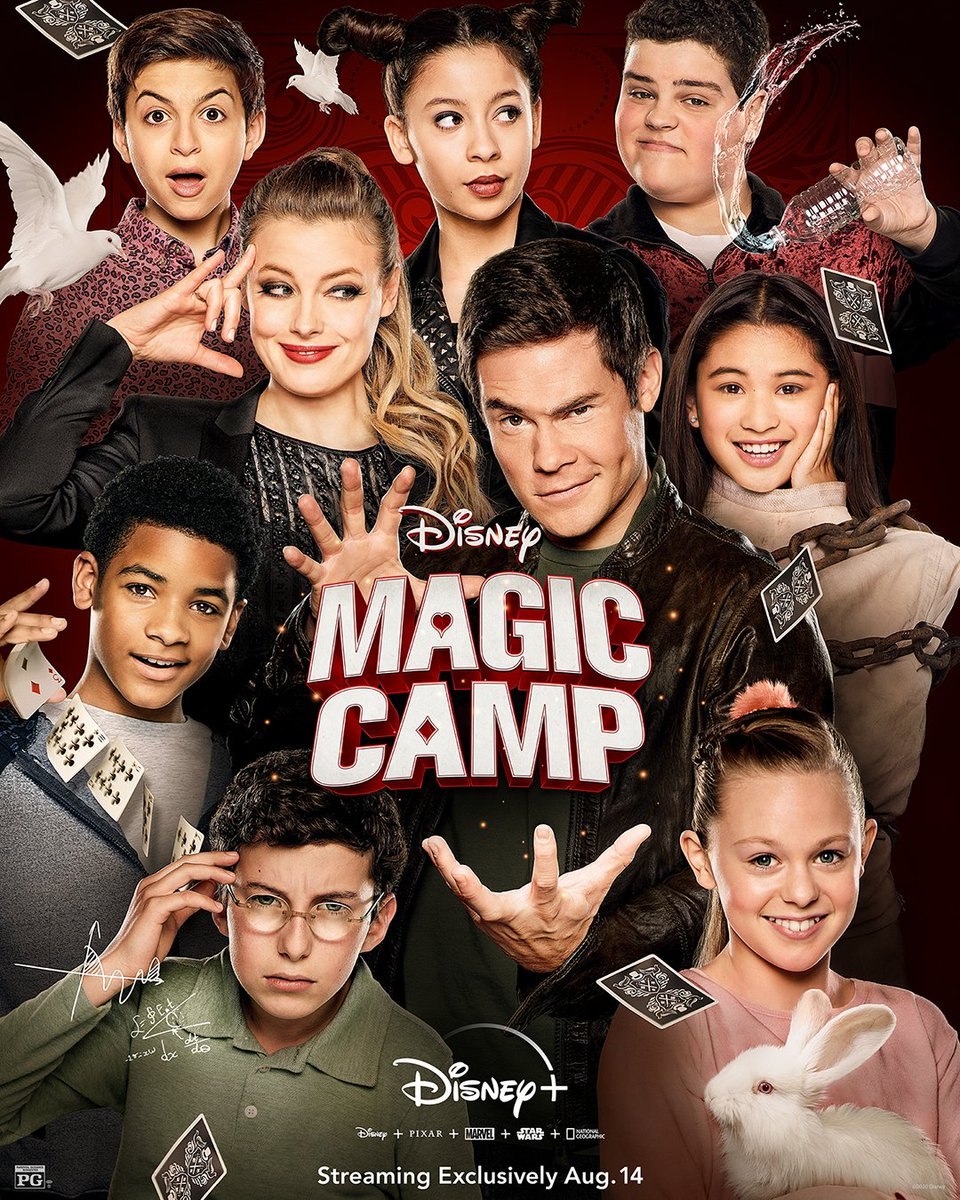 ♠️♦️ Magic Camp is streaming Friday, exclusively on #DisneyPlus ♣️♥️