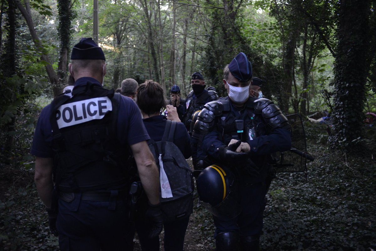 When police vans turned up at a food distribution yesterday morning people immediately scattered in every direction. It was horrible to see how frightened and scared they are after so many weeks of tough police action in Calais. The mood here is the worst weve seen since 2016.