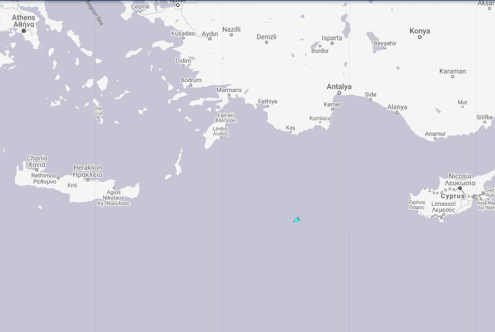 GREECE: The Turkish research vessel 'Oruc Reis' and at least 2 support vessels have entered the Greek EEZ west of Cyprus. https://t.co/6R4FX99UgP