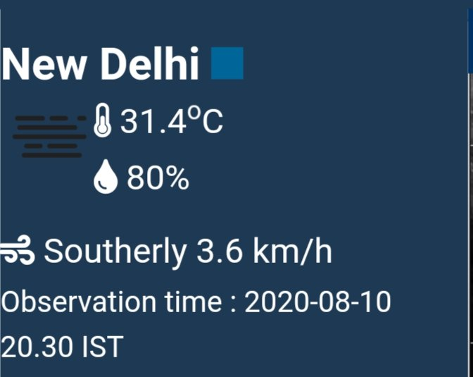 #Rohtak has received heavy #Rainfall during last few hrs.  Now talking about trough, it has definitely shift slight northwards from its previous position ( look at the wind dirn, it is southerly means trough is near Haryana border or had entered south #Haryana)   #Delhirains https://t.co/N3nCpvtSrM