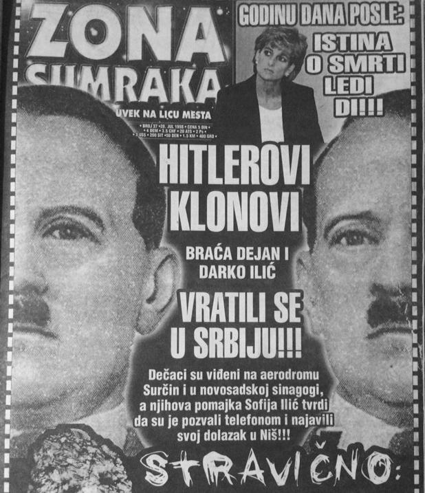 Hitlerovi klonovi se vratili u Srbiju