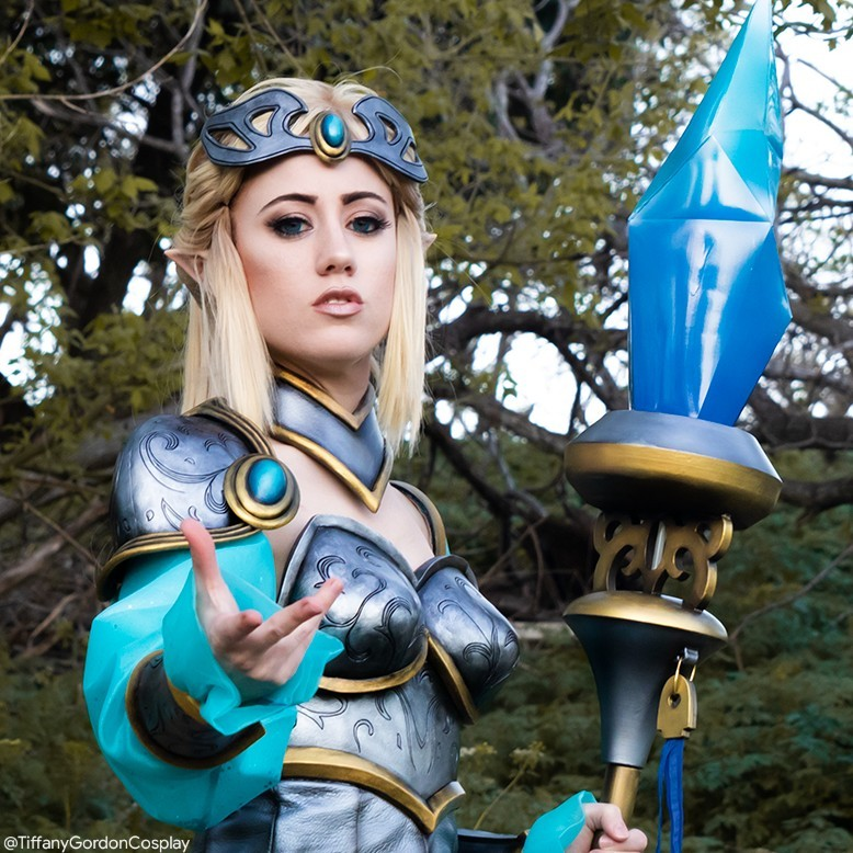 """""""The tempest is at your command.""""~ Janna @LeagueOfLegends  I hope you have a wonderful day today   Victorious Janna cosplay made & modeled by me!  #cosplay #leagueoflegends #leagueoflegendscosplay #weathergirl #jannacosplay #foamarmor #evafoam #RiotGames #girlcosplaypic.twitter.com/bohCiN4psK"""
