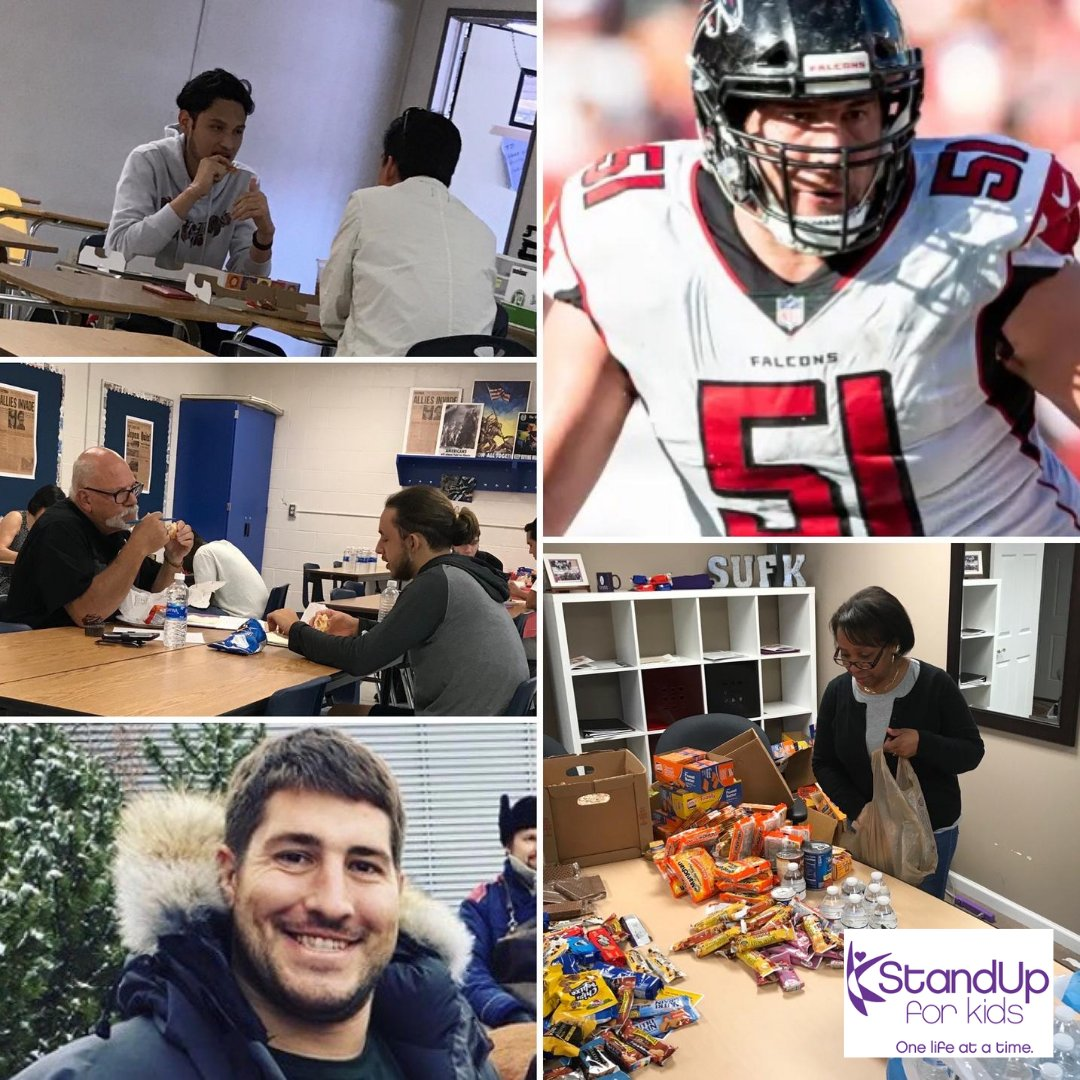 @StandUpForKids wants to express our deepest gratitude to @alexmack51 for sponsoring our #Atlanta program's lunch costs for all our kids in Gwinnett and Hall counties for one full year! Thank you for helping us in our mission to help homeless and at-risk youth! @AtlantaFalcons https://t.co/vsUCShQSi1
