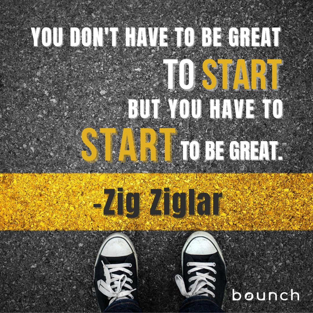 """""""You don't have to be great to start, but you have to start to be great."""" - Zig Ziglar  #entrepreneurgoals #entrepreneurquote #businessgoals #businessquote #successisnotforthelazy #motivational_quotes #businessinspiration #mondaymotivation #successfulquotespic.twitter.com/kZ1yWsFoox"""