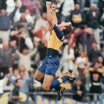 Image for the Tweet beginning: Martin Palermo en los años