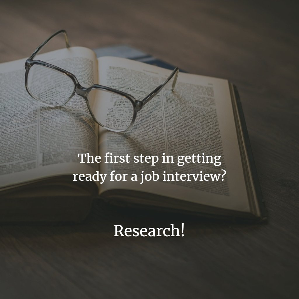 This week, I want to share some #tips for #jobinterviews... The first thing you want to do is #RESEARCH. The position, the company, the hiring manager.... research and find out ALL the information you can #interviews #jobinterview #jobsearch #interview #work #jobhunt #careerspic.twitter.com/FKhS2FNcUD