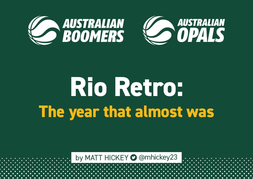 OLYMPICS | This time four years ago, the Australian basketball community experienced a rollercoaster of emotions in Rio 🇦🇺🏀  Read: https://t.co/YAycvdC8pM  by @mhickey23   #AussieHoops #GoBoomers #GoOpals https://t.co/y3DY6LMt5e