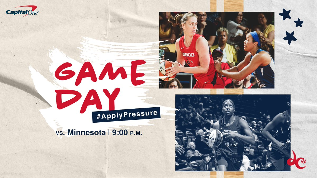 Tuesday hoopsday.  #TogetherDC #ApplyPressure https://t.co/vFipPqzMVn
