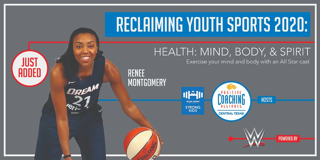 🚨Special Guest!  Excited to announce @WNBA Champion & @UConnWBB Legend @itsreneem will join us for #ReclaimingYouthSports2020 on Aug. 15th!    Sign up today: https://t.co/SAvIq6hpgK https://t.co/OORVa1znON