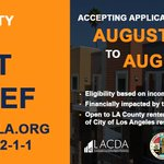 Image for the Tweet beginning: In partnership w/ @CountyofLA &