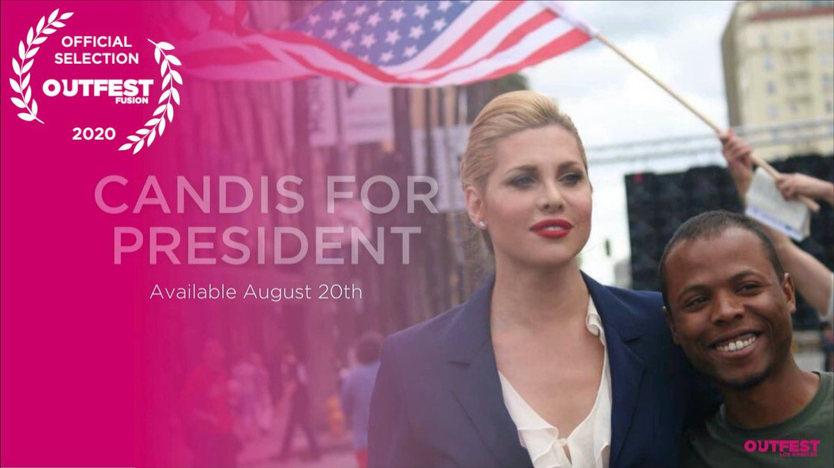 We can finally announce that @CandisforPres is an Official Selection in @Outfest ( August 20-30th) ! Clink link in bio to buy tickets @ametzinLA @candiscayne #candisforpresident  #transvisibility #womenincomedy #outfest #womeninfilm #filmfestival #Filmmaker #lgbtqiapluspic.twitter.com/74koskLEVW