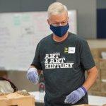 Image for the Tweet beginning: Last week, volunteers helped the