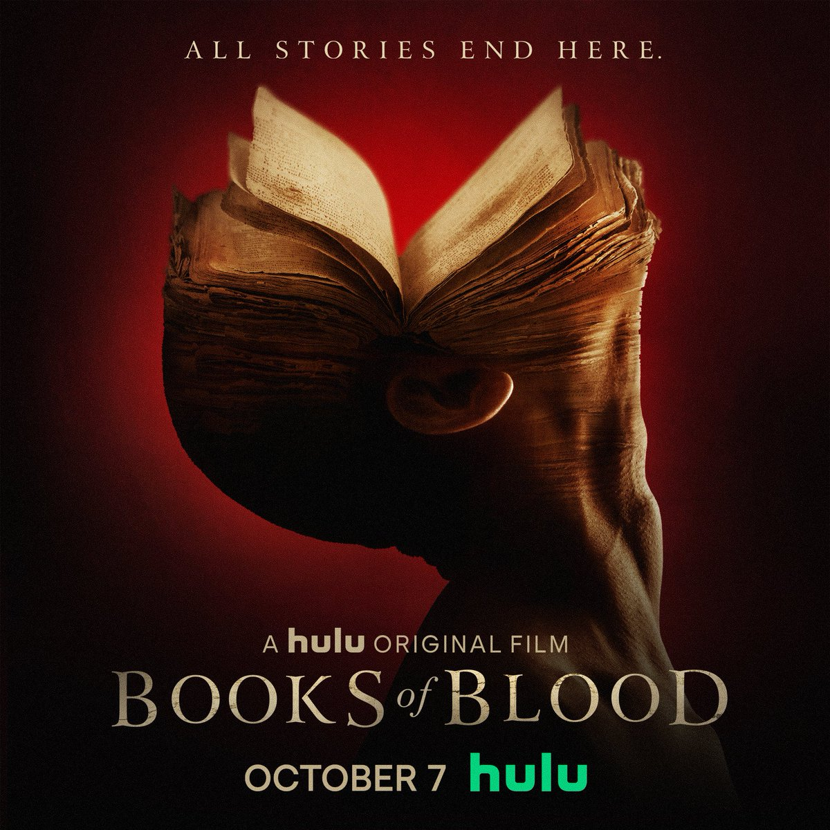 Step into uncharted and forbidden territory. Based on Clive Barker's acclaimed and influential horror anthology book series, #BooksOfBlood, a Hulu Original film premieres on October 7 on Hulu. https://t.co/pMynS6llmN