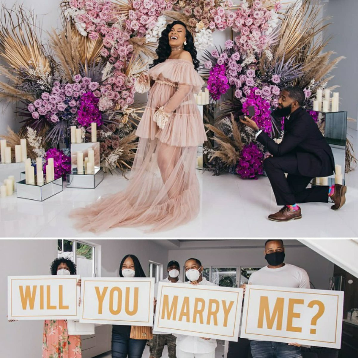 Maternity Glow  and BOOM, this happens . Maternity photoshoot turn surprise proposal. #SheSaidYes .    Follow us More on IG  #SHESAIDYES #engaged #proposal #maternity #BABYBUMP #BlackLovepic.twitter.com/pt5IeQWQrD