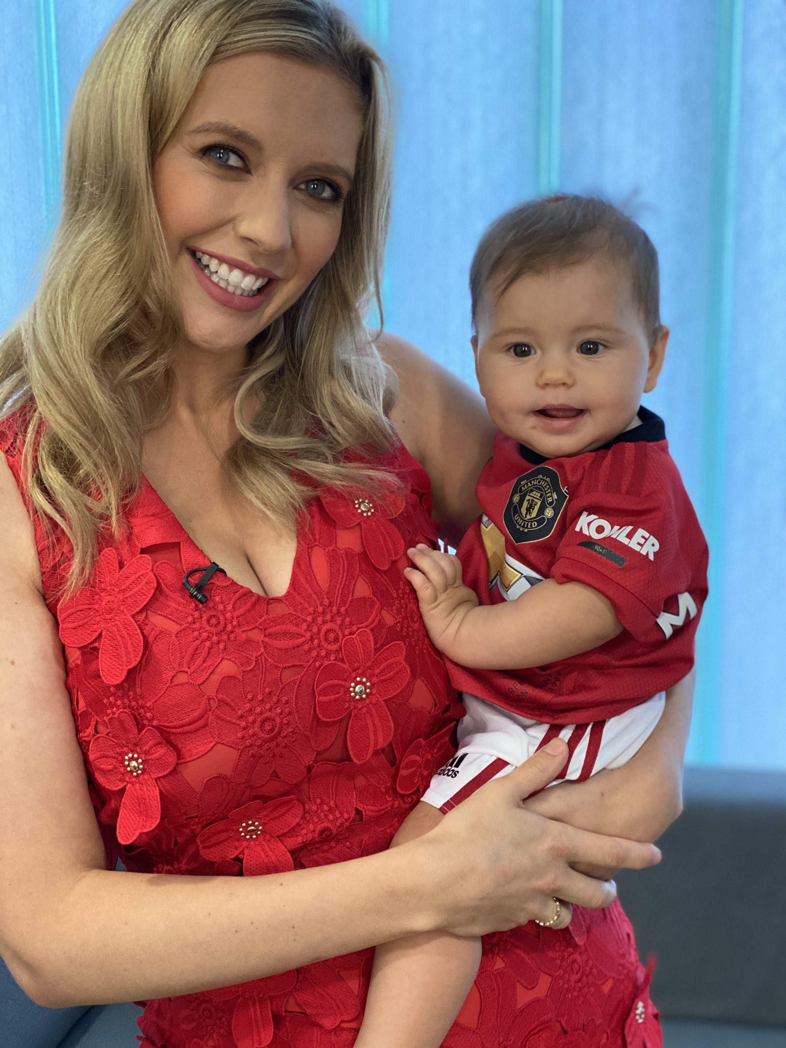 Rachel Riley On Twitter No 7 Is Ready For The Match Come On You Reds Manutd Unitedfamily