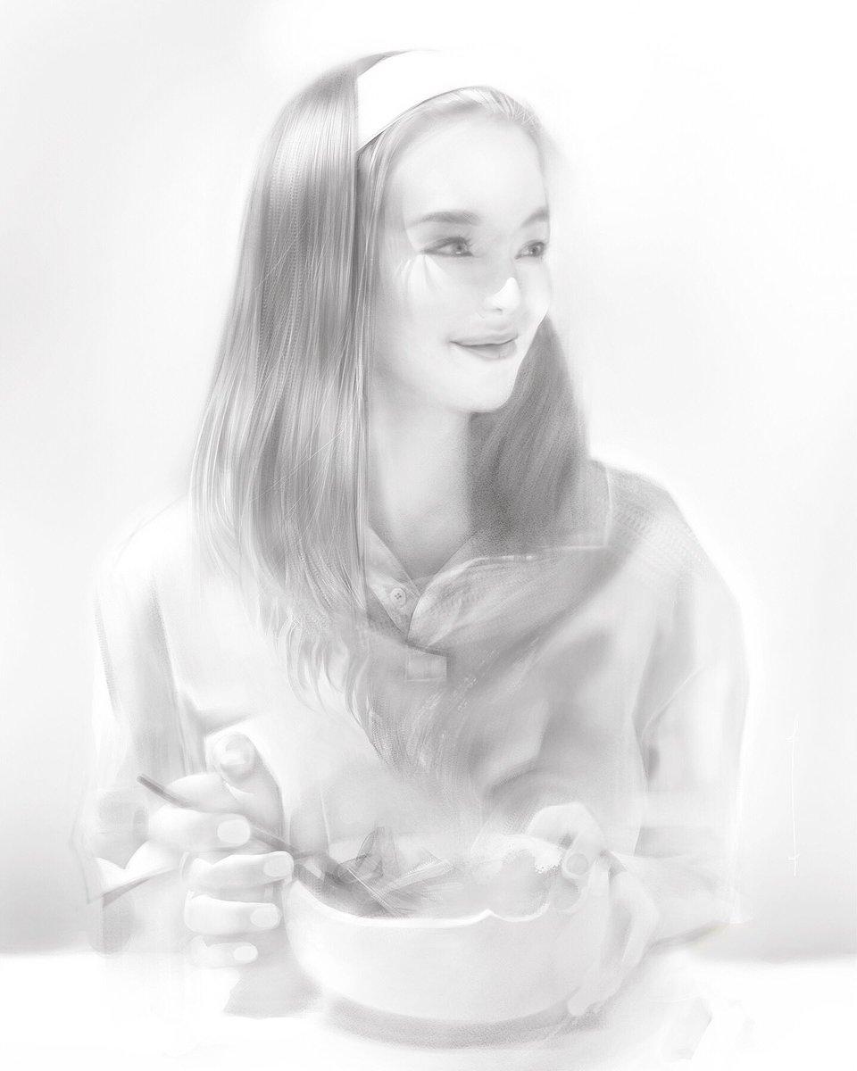 Ref model: Sakura Kirch #portraitdrawing #digitalartpic.twitter.com/q3AoftPTIR