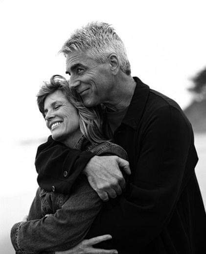 Happy belated birthday Sam Elliott with wife Katharine Ross.