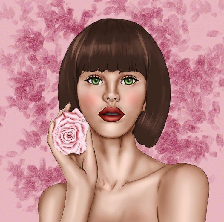 Strike a pose  . .  ( https://Instagram.com/packagedillustrator… )  . . #illustration #illustrationartists #drawportrait  #portraitdrawing #modeldrawing #cutedrawings #drawdrawdraw #beautifuldrawing #drawingskills #flowerdrawing #draw #drawingpic.twitter.com/3UUK3HWdbO