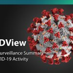 Image for the Tweet beginning: The  latest CDC #COVIDView