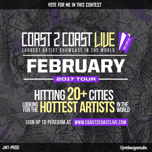 Vote for me to perform at #South Africa Edition! http://c2c.fm/Ni9w4X #Coast2Coastpic.twitter.com/3lbOaf4VOc