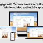 Image for the Tweet beginning: Engage with #Yammer conversations in