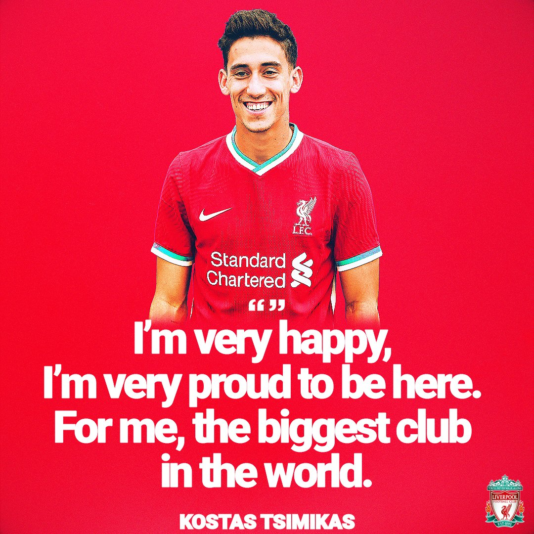 Kostas on what it means to join the Reds 🙌🔴 https://t.co/fGVE90wpOG