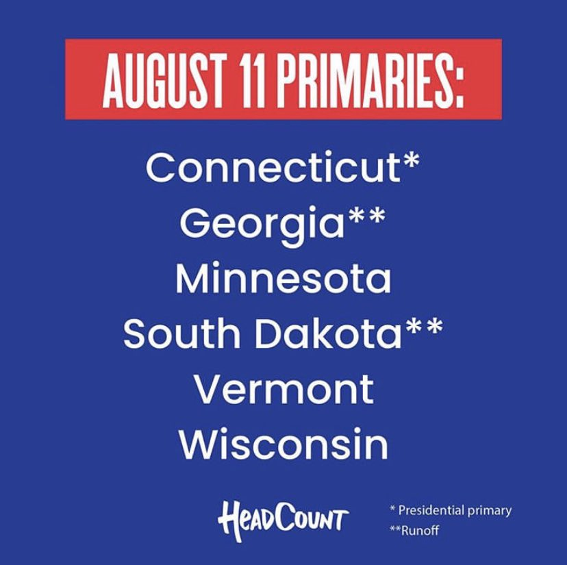 Make me proud #Minnesota! Please #vote in tomorrow's #primaries, and the #generalelection on Nov. 3.     @headcountorg #Vote2020 #VoteReady #CivicCities #voteforjustice #climatejusticeissocialjustice #earthdayiselectionday #SaveOurStages