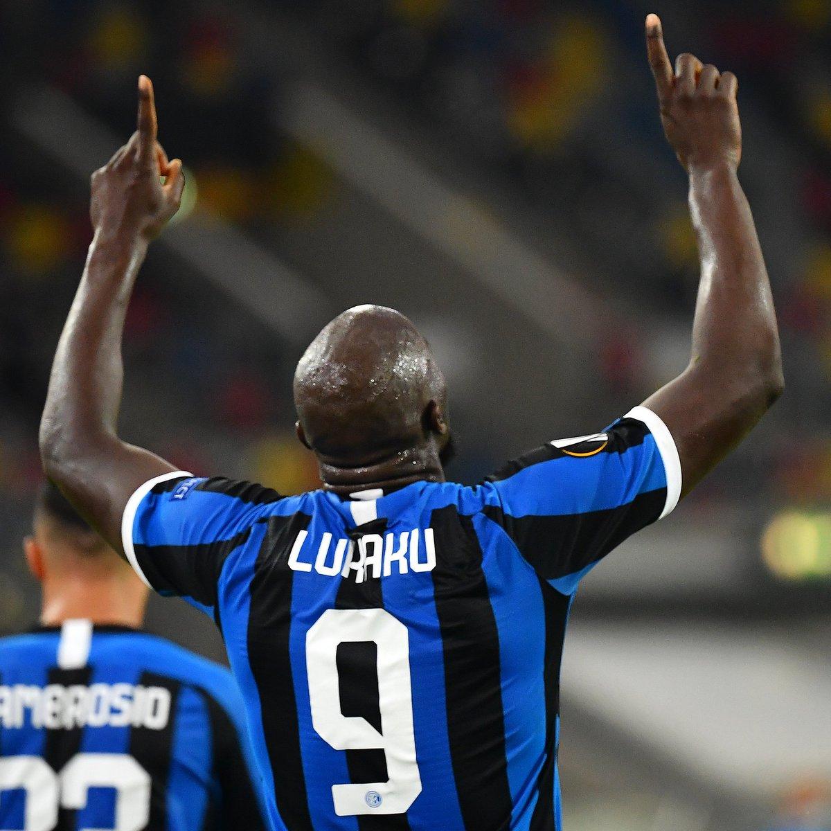 ⚫️🔵 Romelu Lukaku has scored in his last 6 European games for Inter 🙌  #UEL https://t.co/PcoZrB7jVo