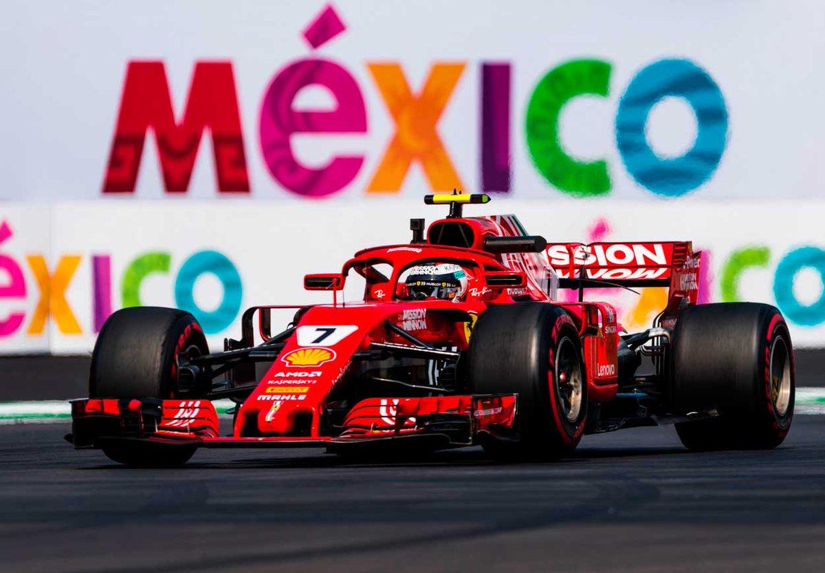 Kimi Raikkonen con Ferrari en el Gran Premio de México de 2018 en el Autódromo Hnos. Rodríguez  #ahr #mexicogp #ferrari https://t.co/HCWFgsoVTC