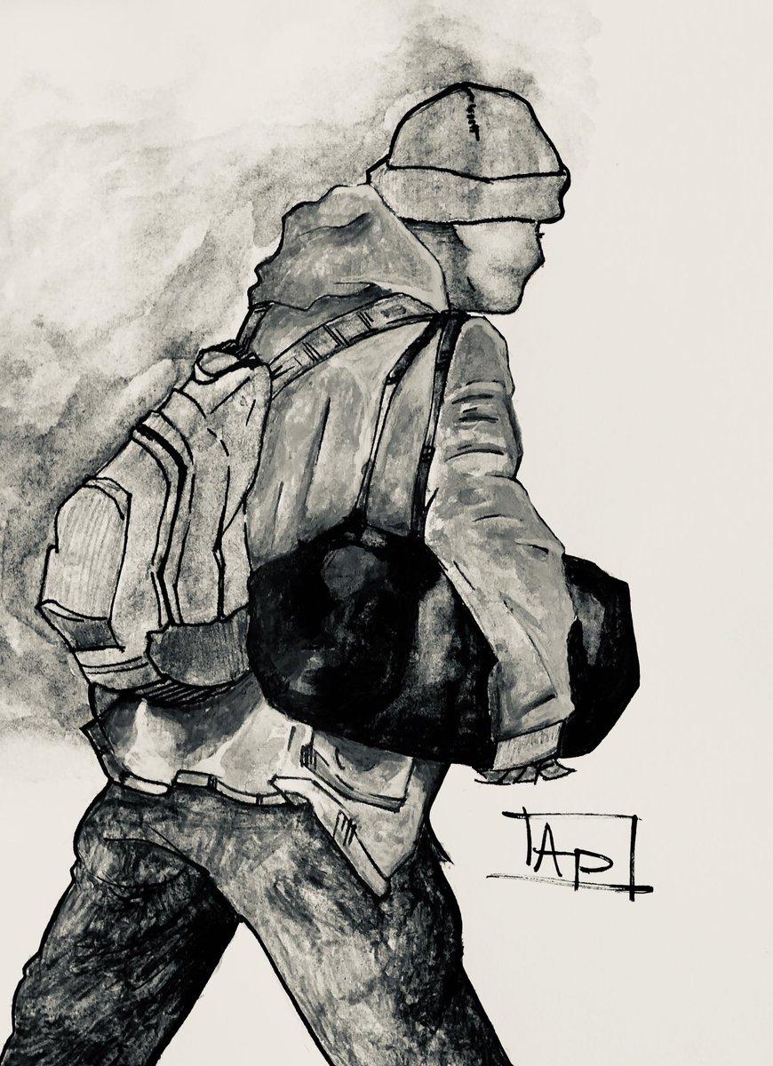 #dailysketch #art #artists #sketch #ArtistOnTwitter #Homeless #COVID19 #SanFrancisco #downtown #shelter #closedpic.twitter.com/BbKItBZWnD
