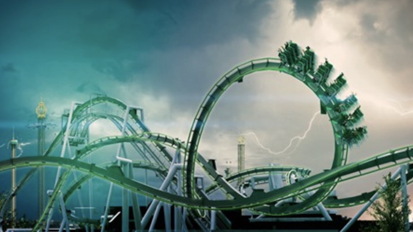 "World of Themeparks on Twitter: ""Gröna Lund - new Artwork - Monster 2021  #grönalund #monster #Rollercoaster #artwork #inverted #Stockholm #sweden  #conceptart… https://t.co/l2LQ94fLtw"""