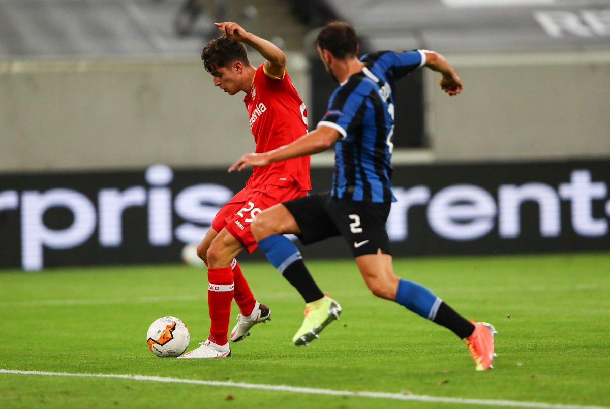 📸 Kai Havertz scores his 18th goal of the season ⚽️  #UEL https://t.co/EH3HCvhkuf