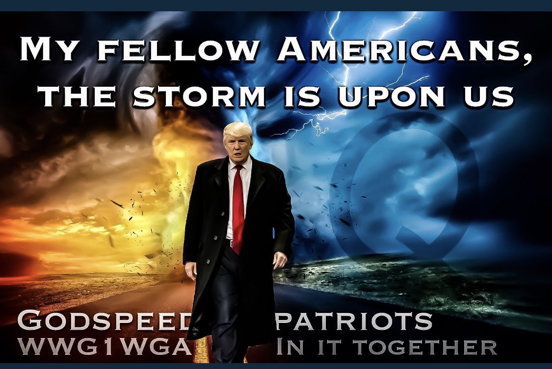 We will win against the storm!!🇺🇸 @sbacon0410 @HHere4trump @fuji_forever @AnnieGetHerGun @all_gypsy @jimscileppi @ScienceDaddio @DoodlePrissy @Raiden3pt0 @CeeBeesHeart @ArmedWithGrace @DrG_lovesMAGA @jewelruby13 @OGKBEAR #WarriorsForTrump🇺🇸🇺🇸