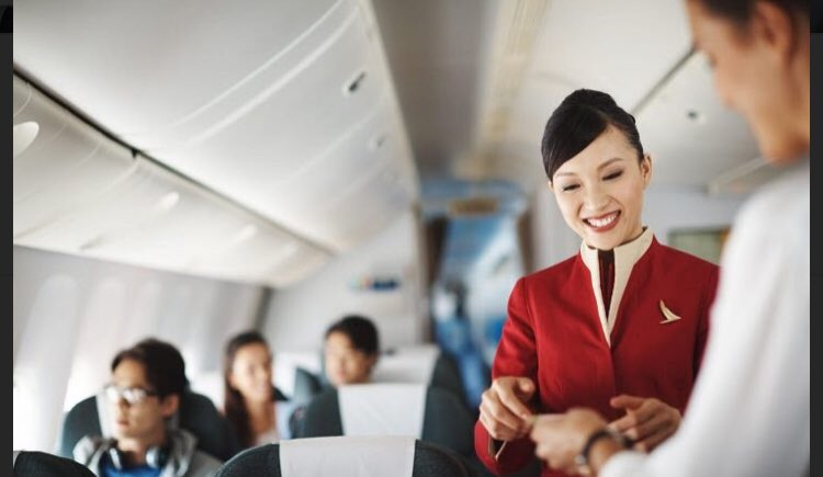 Some passengers are grumpy and difficult to handle. Flight attendants are experts on keeping their cool in these suituations. Read how they do it. https://t.co/6RE9RGx3xQ          #flightattendant #customerservice #travel #airline #airport #emotion #fly #sky https://t.co/PufrYnF19W