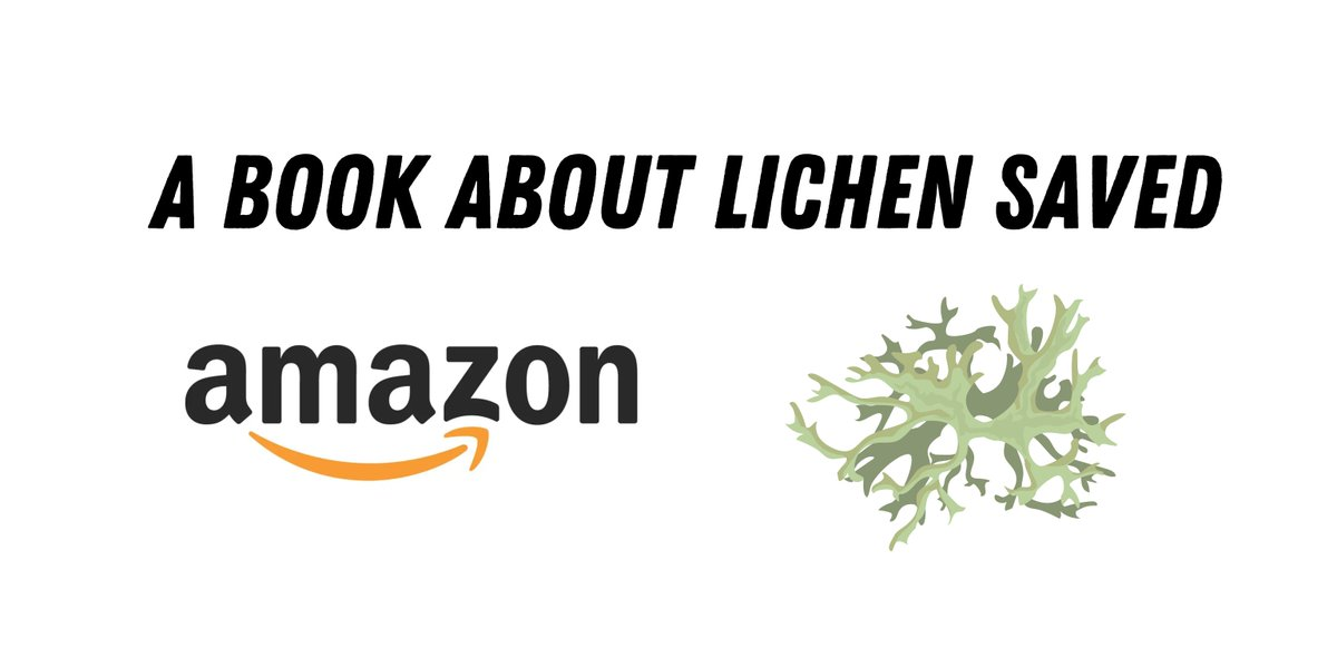 A book about lichen saved Amazon from going out of business. A thread 👇