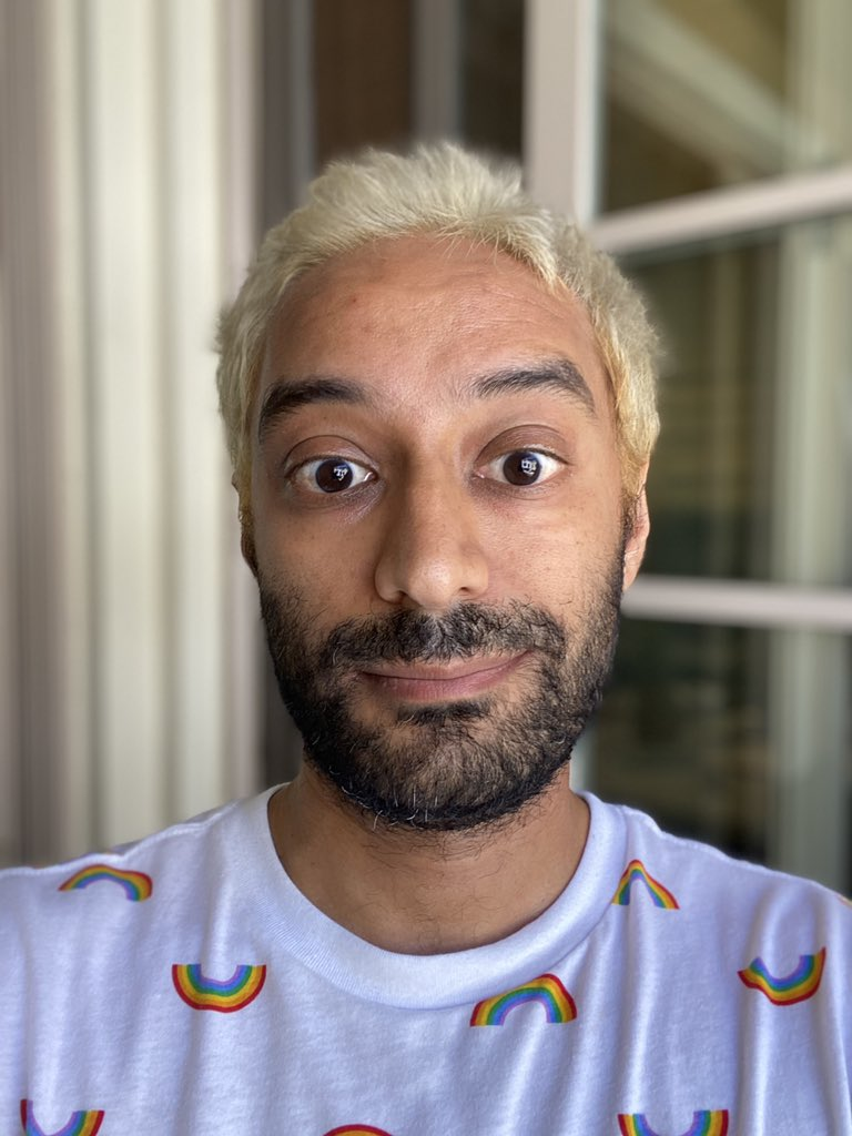 Achieved lifelong dream: bleached my hair. https://t.co/bE4ofHvczX