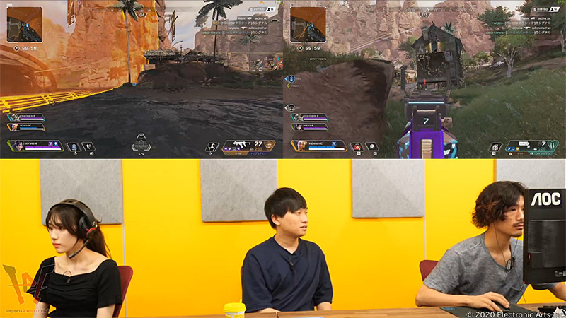 ゲーム攻略企画「喪服は準備したか!?」第65回目放送ダイジェスト~Apex Legendsをプレイ&ご褒美をかけた番組新ルール導入