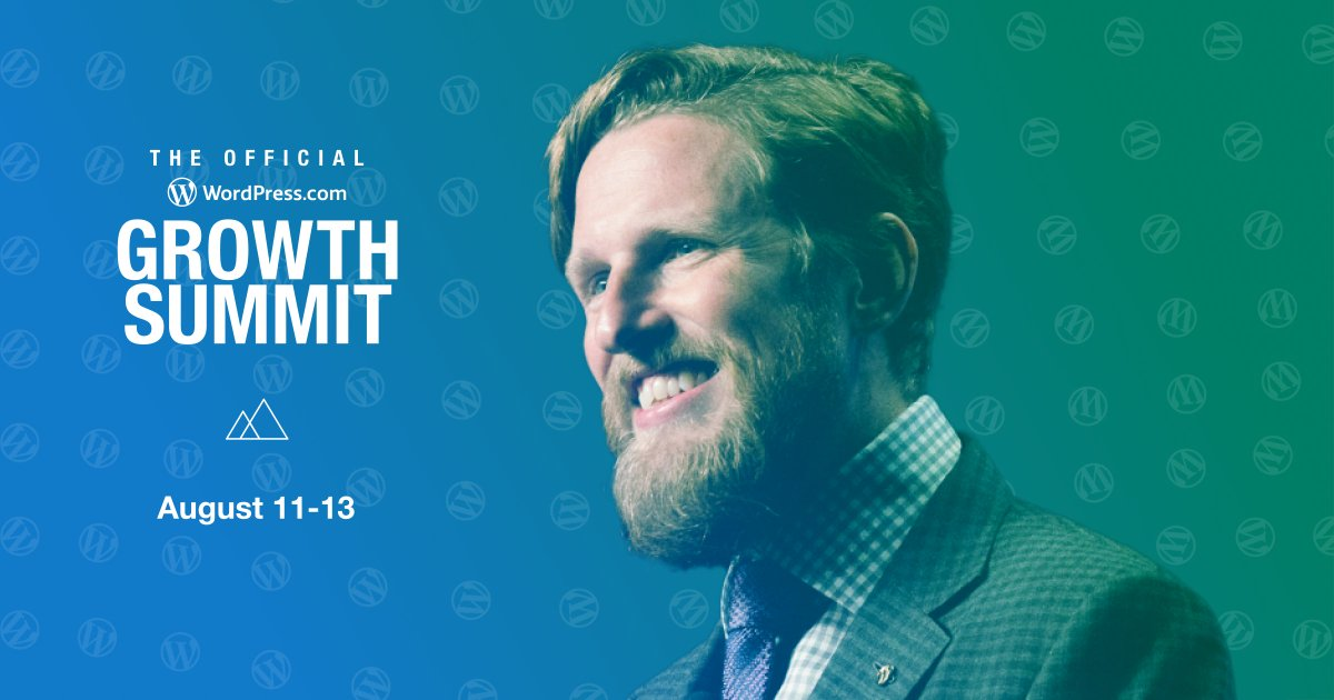The https://t.co/eRvNKWaolr Growth Summit starts tomorrow! Tune in to 50 speakers and nearly 100 sessions, as well as opening remarks from @photomatt.  Last chance to register! Join us: https://t.co/XphKNRi6XE https://t.co/HcITbyTEx5