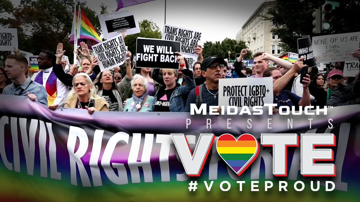 📺 NEW VIDEO We are thrilled to announce our partnership with 'Vote Proud' an organization dedicated to increasing voter turnout in the LGBTQ+ community. Special thanks to @BarbraStreisand and Bruce Roberts for your collaboration! #VoteProud