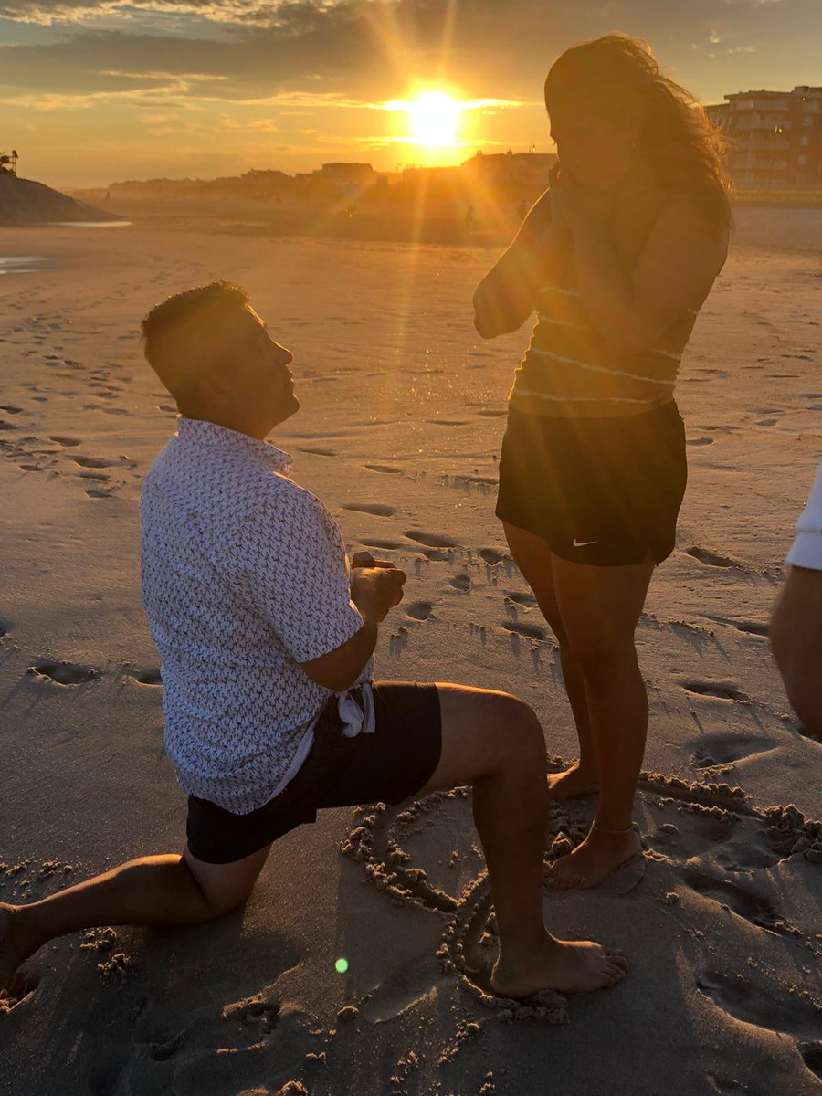 SHE SAID YES!! .. Am so HAPPY for my brother @ottito36 @otto_ottito36 & my new #sisterinlaw the beautiful, funny, brilliant & loving @StephhBel on your #engagement ... #lovewins  ... #shesaidyes #engaged #love #amor #proposal #proposedpic.twitter.com/F1lIDQbIND