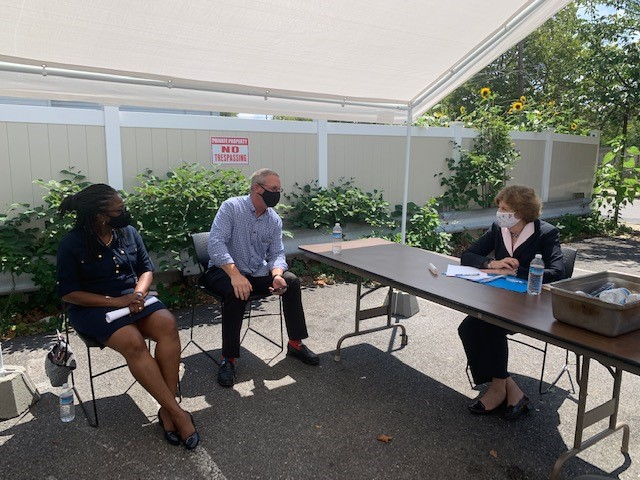 At @NSKorg today, I heard more from advocates on the looming eviction crisis vulnerable NH families are facing. Families need help now. The fed gov has a responsibility to help ensure those most at risk dont lose their homes & our homeless shelters have the support they need.