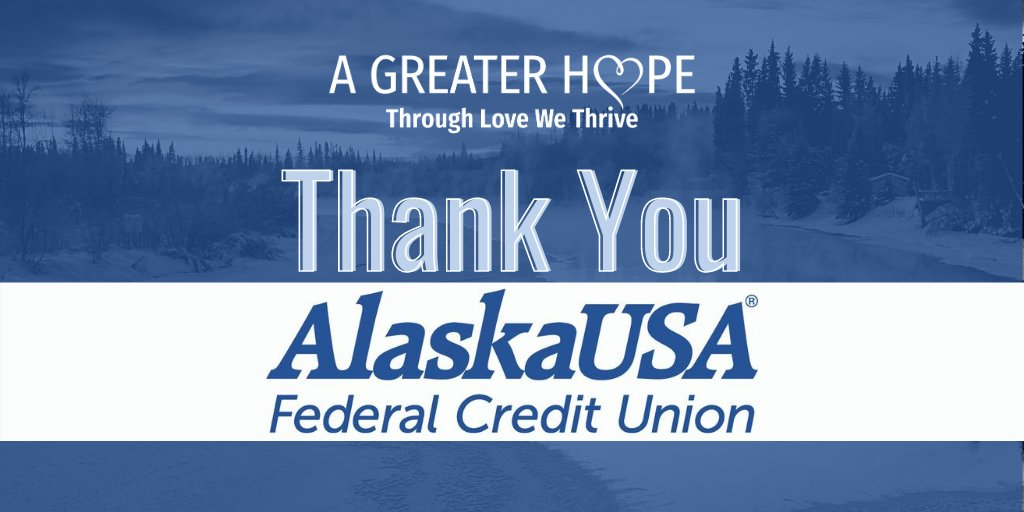The generous support of Alaska USA Federal Credit Union has impacted the lives of thousands of #fosterchildren.  Great #thanks to @alaskausafcu for your commitment to bringing #safety, #hope and #healing to #children in our #community. #donor #donation #appreciation #fostercare https://t.co/mDyxq4gvXW