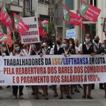Image for the Tweet beginning: Trabalhadores dos bares dos comboios