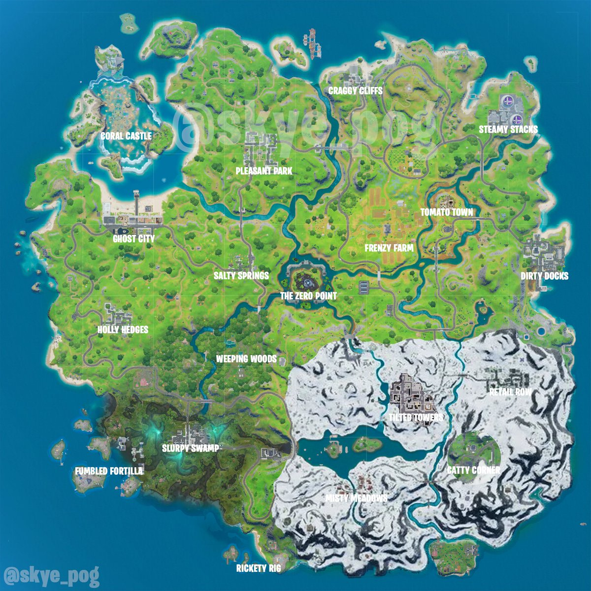 Thread By Skye Pog Fortnite Chapter 2 Season 4 Map Conceptany Likes Retweets Or Sharing Fortnite season 4, which was introduced with patch 4.0, introduced a brand new map in the battle royale game. season 4 map conceptany likes retweets