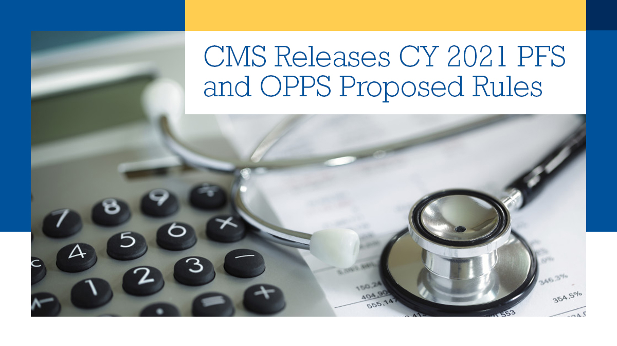 Our editors unpack #CMS CY 2021 proposed rules for the Physician Fee Schedule (#PFS) and the Hospital Outpatient Prospective Payment System (#OPPS). Learn more in the latest edition of Health Policy Weekly: https://t.co/vY2FXP9gfe https://t.co/98N7IZNEPX